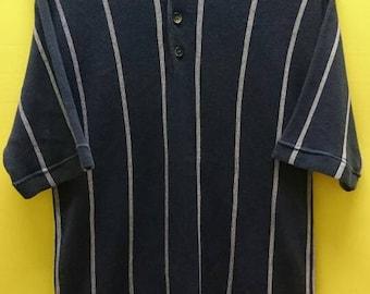 Vintage ISSEY MIYAKE  Polo T Shirt Rare