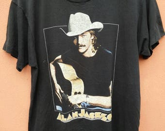 Vintage Alan Jackson Dont Rock The Jukebox T Shirt Rare