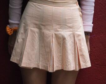 Clueless orange pastel skirt