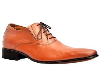 ON SUMMER SALE Weber Handmade Oxford Plain Men Leather Shoes.