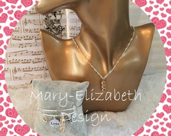 Mary-Elizabeth dimond jewelry set. Gold Jewelry sets, silver jewelry sets, jewelry sets