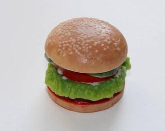 Burger soap mold, burger plastic soap mold, juicy burger soap mold, good hamburger plastic soap mold, hamburger soap mold, burger soap