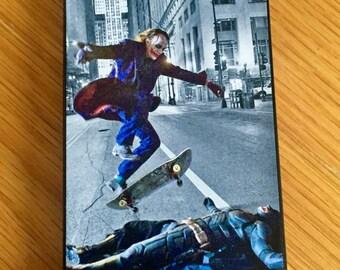 Batman/Joker Skateboard KiSS iPhone Case