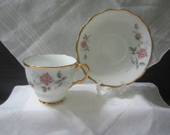 China #978 Porcelain Teacup and Saucer