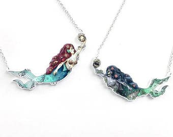 June limited edition necklaces - Mermaid/Zombie Mermaid/Set
