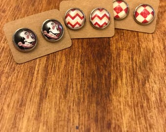 Set of 3 FSU earrings