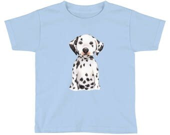 Dalmatian Kids Short Sleeve T-Shirt