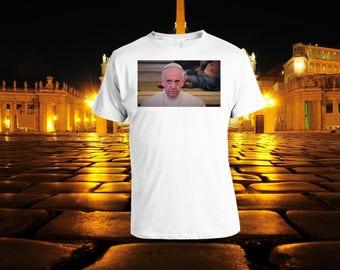 Pope Miserable Face Original T-Shirt