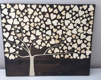Wedding Guestbook Tree Sign