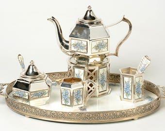 Tea set - Pako Rhenen - Forget me not