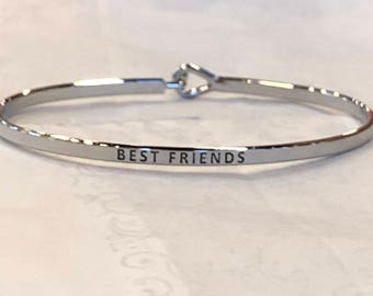 The inspired bangle (best friend )