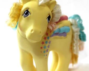 Ringlet Pegasus Original G1 My Little Pony MLP Rainbow Curl Pony Vintage 80s