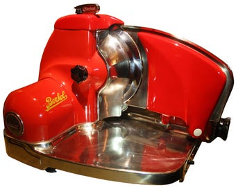 Berkel Type 834 slicer Classic Red (restored)