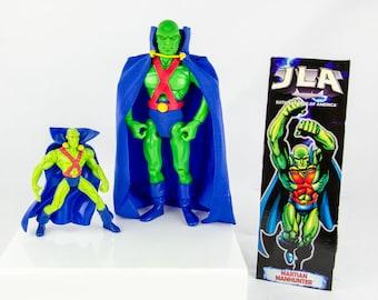 DC Comics Justice League JLA Martian Manhunter Action Figure Lot 1998-99 Hasbro