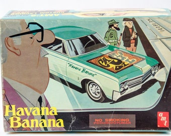 Rare AMT Fidel Castro Havana Banana Oldsmobile 88 1/25 Scale Model Car T303 200