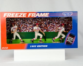 Starting Lineup 1997 Freeze Frame Texas Rangers Juan Gonzalez Action Figure