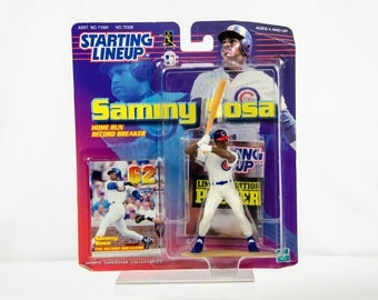 Starting Lineup Sammy Sosa Home Run Record Breaker Action Figure Chicago Cubs