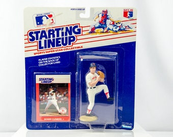 Starting Lineup 1988 Roger Clemens Action Figure Boston Red Sox