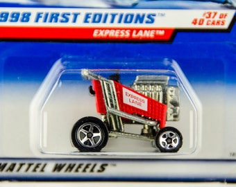 Hot Wheels 1998 First Editions #37 of 40 Express Lane 1/64 Diecast
