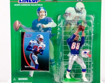 Starting Lineup 1998 NFL Terry Glenn Action Figure - New England Patriots