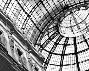 Milan Print,Wall Decor,Wall Art,Decor Gift,Office Gift,Art Photography,Wall Office Decor,Print On Canvas,Photography Black and White