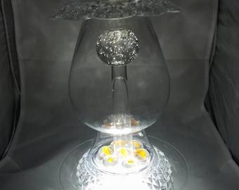 Glass Centerpiece