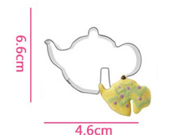 Teapot Cookie Cutter- Cup Hanging Biscuits - Fondant Biscuit Mold - Pastry Baking Tool Set