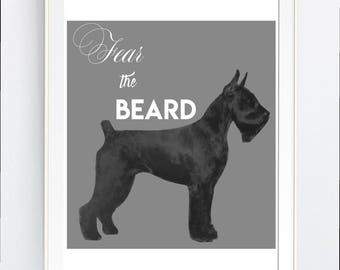 wall art print, DOG, breeder, schnauzer, vector art, printable, gift, printable,  DOG lover, digital, Svg, pdf, png, jpg, JPEg, Wall Decor,