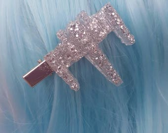 Holo Star Wars Glitter X-Wing Hair Clip