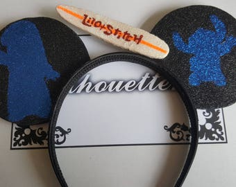 Disney Lilo and Stitch Inspired Souvenir Ears