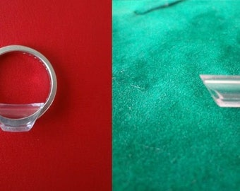 New The slender ring resizer Clip Guard size reducer adjuster snug- make rings smaller, stop the twist