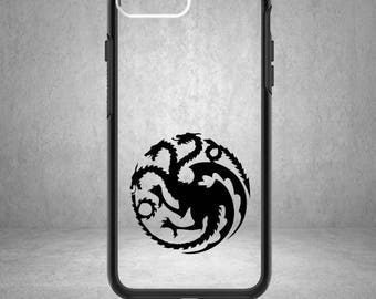 Game of Thrones Decal, Game of Thrones Sticker, Jon Snow, Phone Cover, Game of Thrones Decals, Game of Thrones, House Targaryen Decal