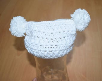 Newborn Hat and Booties