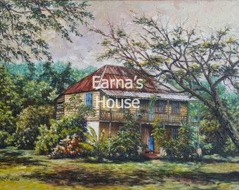 Prints on Canvas (Gi'Clee)