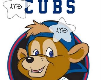 Chicago Cubs Clark Iron On Transfer