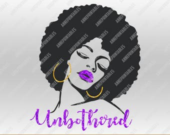 Unbothered Svg Dxf Png Eps Pdf files|The Unbothered Sexy Eye Cutting File