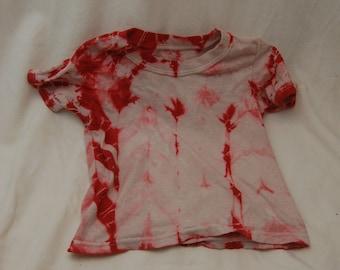 Scarlet childs tie dye shibori style