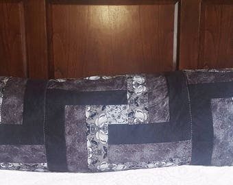 Quilted Body Pillow Case Cover - body pillow case, body pillow cover, body pillowcase, long pillow case, quilted pillowcase, cuddle pillow