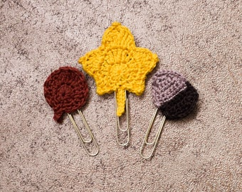 Autumn Leaf Paper Clip collection
