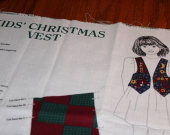 3.00 Each Kid's CHRISTMAS VEST