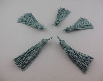 Tassel has jeans color rayon thread