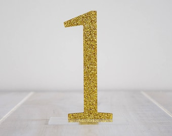 Classy Glitter Table Numbers | Wedding Table Setting | Party Decor | Centerpieces | Acrylic | Bridal Shower | Prom | Birthday | Reception