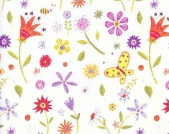 Watercolor Floral Gift Wrap, Environmentally Friendly, 100% Recycled Wrapping Paper
