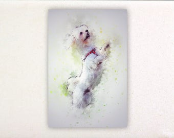 Dog - Watercolor prints, watercolor posters, nursery decor, nursery wall art, wall decor, wall prints 2 | Tropparoba - 100% made in Italy