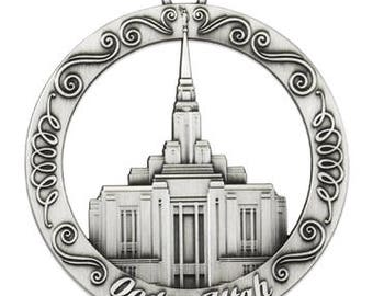 New Ogden Utah LDS Temple Ornament