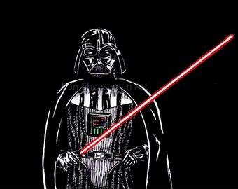 Darth Vader Medium Print