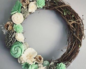 Sola Flower Wreath