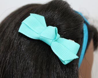 Bow hair clip for 18 inch dolls