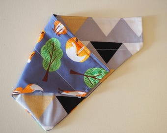Bunting & Foxes Reversible Bandana
