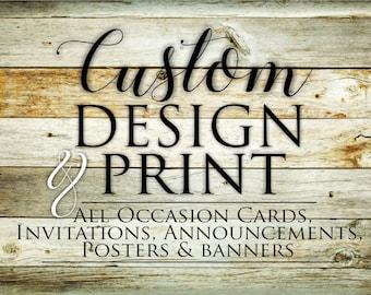 Custom Design & Print